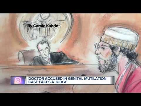Hospital fires Detroit doctor charged with female genital mutilation (видео)
