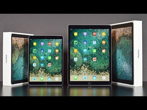 Mở hộp iPad Pro 10.5 và 12.9 inch 2017