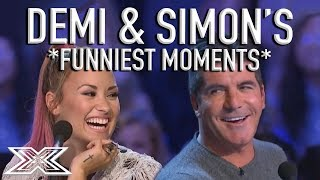 "Video ""Don't Kiss Niall!"" Demi Lovato & Simon Cowell's Funniest X Factor Moments! 