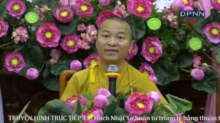 [LIVESTREAM] TT. Thích Nhật Từ ban lời huấn thị trong lễ hằng thuận tại chùa Giác Ngộ 08-04-2017