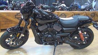 7. Harley-Davidson Street Rod 750 (2018) Exterior and Interior