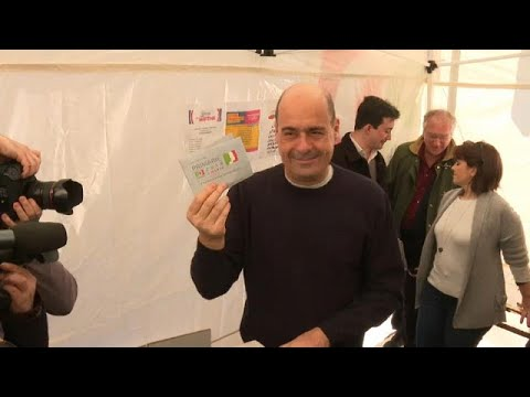 Ο Νικόλα Ζινγκαρέτι νέος γραμματέας του Δημοκρατικού Κόμματος…