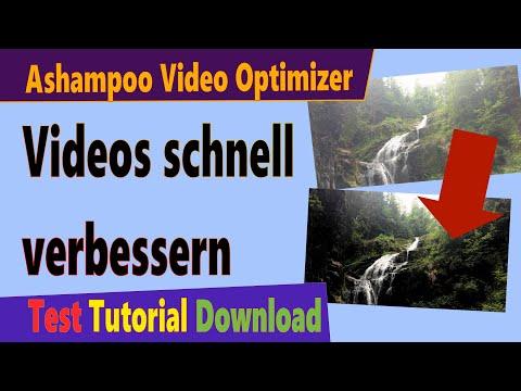 Videos verbessern: Ashampoo Video Optimizer (Test & Download Deutsch)