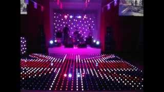 Illumilok Illuminated RGB Pixel Dance Floor Hire - UK Events Ltd