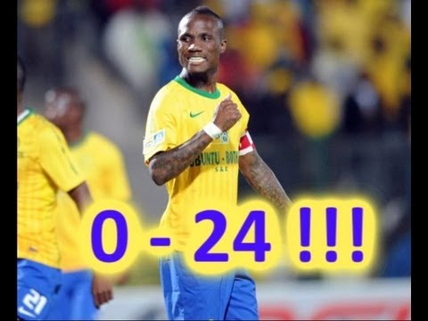 Powerlines FC 0 – 24(Yes24) Mamelodi Sundowns – Nedbank Cup 2012 – INCREDIBLE!