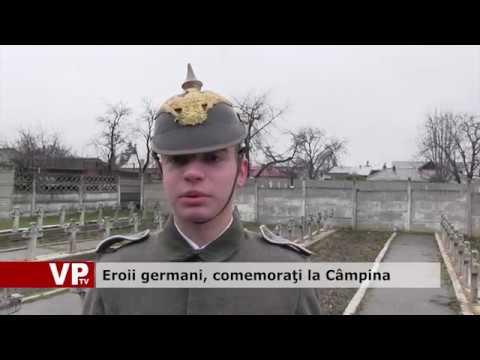 Eroii germani, comemoraţi la Câmpina