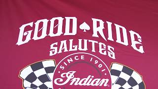 10. Good Ride Salutes - Indian Motorcycle