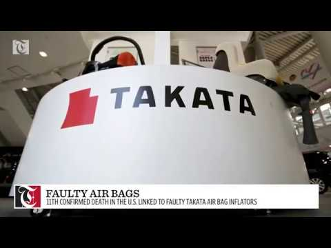 Yet another death linked to faulty Takata air bags.