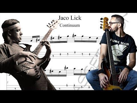 Lezioni di Basso 29 - Jaco lick from