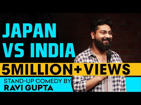 SEX, Japan Vs India | Stand-up Comedy by Ravi Gupta (видео)
