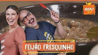 Como fazer feijão: Tiago Abravanel e Rita cozinham clássico nacional | Rita Lobo | Cozinha Prática
