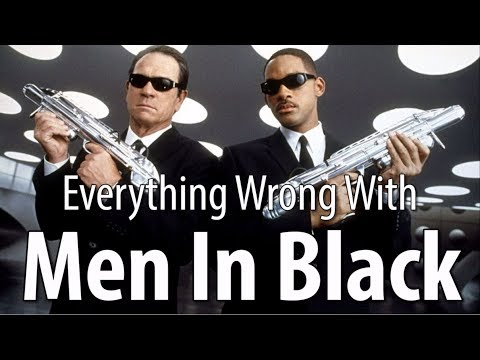 Everything Wrong With Men In Black In 16 Minutes Or Less (видео)