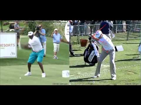 Anti-Flip Golf Swing Analysis Michael Jordan