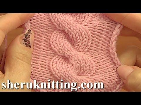 lavorazione a maglia - come realizzare una treccia
