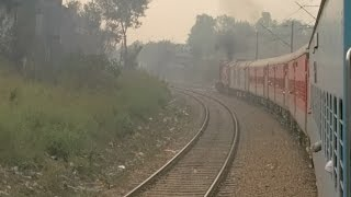 Awesome India train journey. Holiday Special Superfast Express Delhi Sarai