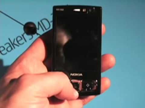 Nokia N95 8gb phone Video Review