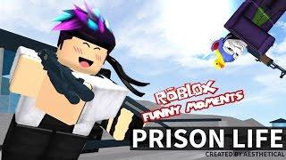 Roblox: Prison Life v2.0- Terrible Cops (Roblox Funny Moments)