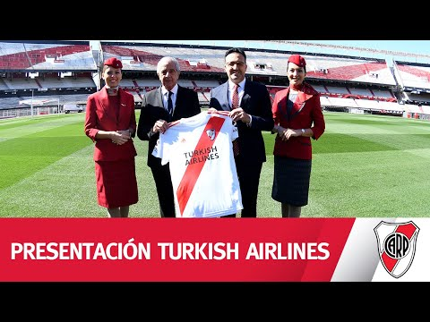 Turkish Airlines, nuevo main sponsor de River