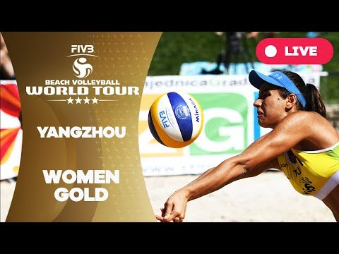 Yangzhou 4 Star 2018 FIVB Beach Volleyball World Tour Women Gold Medal Match