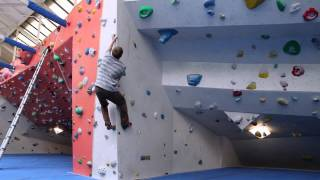 Louis Parkinson training at the Arch Building One for his upcoming world cup.