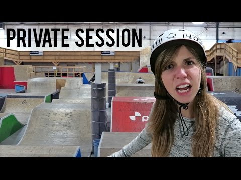 Webisode 56: Private Session at the CRAZIEST Skatepark (Bike Only) (видео)