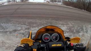 6. так едет ski-doo MXZ 1000 renegade