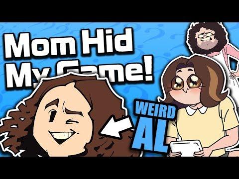 Mom Hid My Game w/ Special Guest WEIRD AL - Guest Grumps