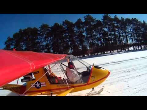 20140216 Log Cabin Fly-In (видео)
