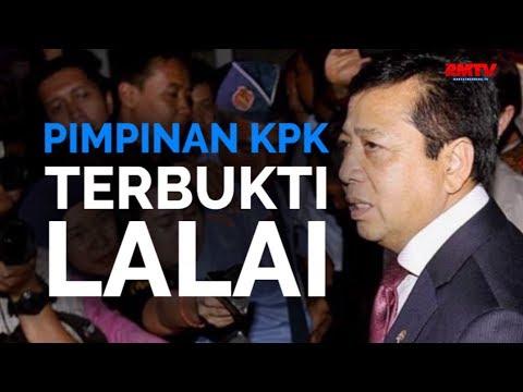 Pimpinan KPK Terbukti Lalai