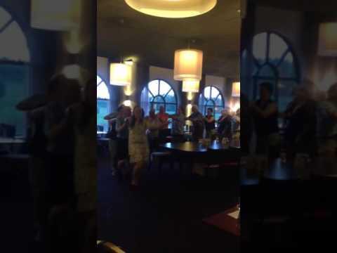 In de polonaise bij Hotel Port of Moerdijk