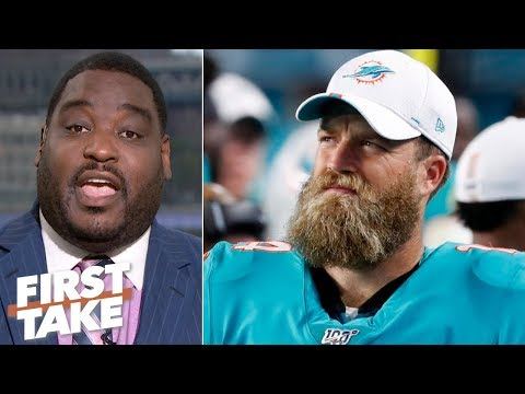 Video: Dolphins players should be mad about the Tunsil, Alonso & Stills trades – Damien Woody | First Take