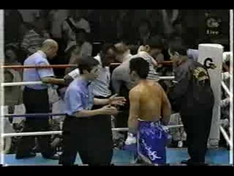 Boxing Referee Knocked out