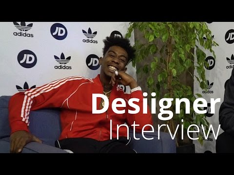Desiigner Interview | Talking Yeezy, Sneakers & Pandas | adidas x JD Sports Tubular Shadow Event