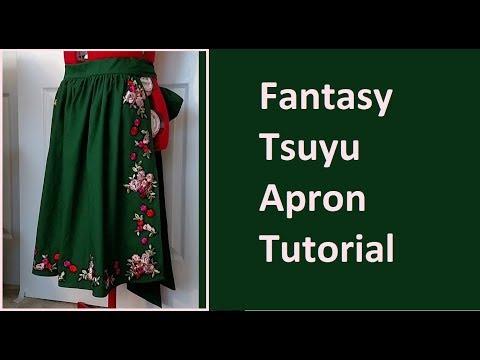 Tsuyu Asui Fantasy AU Cosplay Tutorial [BNHA] Part 1: Apron