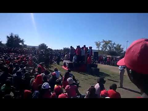 Chamisa fall from stage (видео)