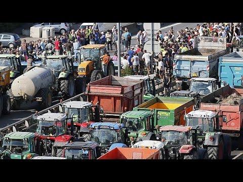 Ρωσικό εμπάργκο και ντάμπινγκ πλήττουν τους Γάλλους αγρότες
