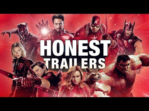 An Honest Trailer for the Marvel Cinematic