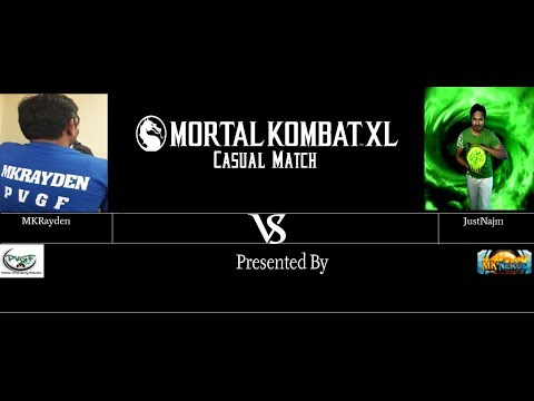 PVGF Pakistan Mortal Kombat X Online Match between JustNajm vs. MKRayden