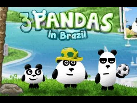 3 Pandas in Brazil Full Gameplay Walkthrough All Levels