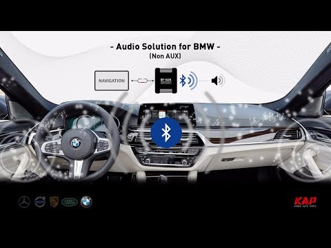 BMW EVO NBT Non AUX Solution - Bluetooth-AUX (BT-AUX) 2018