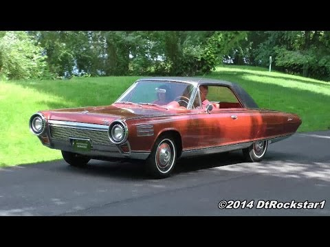 You would think this 1963 Chrysler Turbine was a jet!