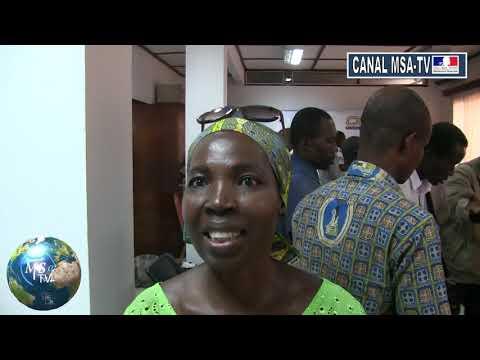 COTE D'IVOIRE : interview de madame DOSSO gélule de nime contre le coronavirus