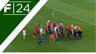 Dostali bramę na 3:0 i im odj*bało! Masowa napi*rdalanka piłkarzy na meczu Shakhtar – Dynamo!