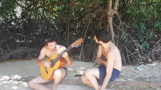 SonhadorMúsica de Marcos LamyJoão Simas violãoMarcos Lamy vozIngrid Assis e Luiza Brina imagens