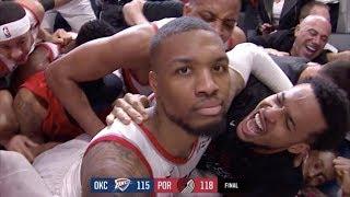 Lillard Game Winner 37 Feet Away! 50 Pts Game 5! 2019 NBA Playoffs