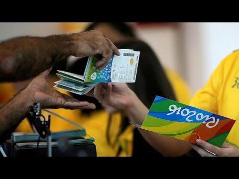 Βραζιλία: Απούλητα εισιτήρια για τους Ολυμπιακούς Αγώνες παρά τις ουρές