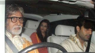 Amitabh, Abhishek, Aishwarya Rai Bachchan @ Shahrukh Khan's Eid Party !