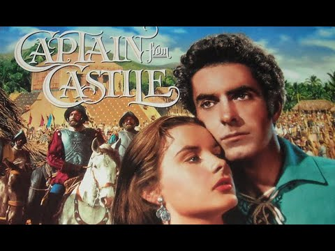 """CAPTAIN FROM CASTILE (Henry King, 1947) """"Conquest"""" - Soundtrack Music by ALFRED NEWMAN"""
