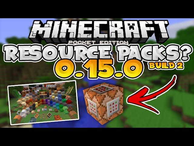 how to delete resource packs mcpe