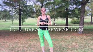 Lunge & Kick Combo for Sculpted Legs - Video
